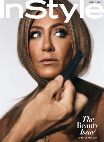 Jennifer Aniston for InStyle US October 2019 Cover D