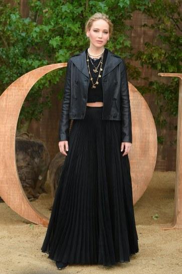 Jennifer Lawrence in Dior Fall 2019