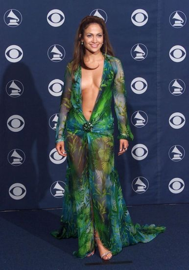 Jennifer Lopez in Versace Spring 2000