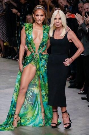 Jennifer Lopez X Versace Spring 2020-2