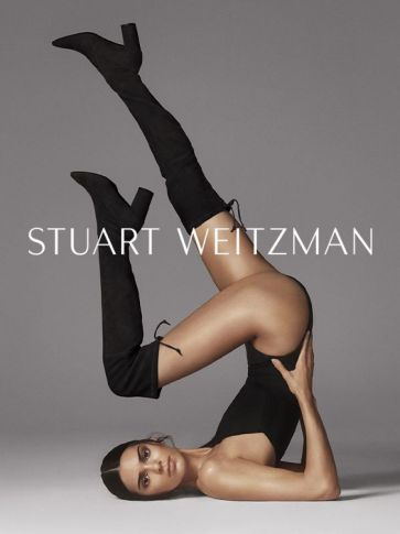 Kendall Jenner for Stuart Weitzman Fall 2019 Campaign-1