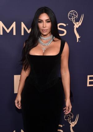 Kim Kardashian in Vivienne Westwood Fall 1996-2