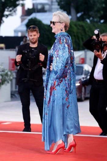 Meryl Streep in Givenchy Fall 2019-2
