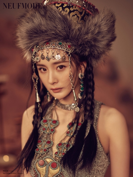 Yang Mi for NEUFMODE September 2019-8