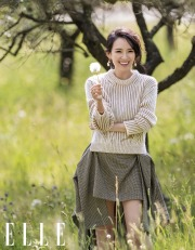 Ziyi Zhang for ELLE China October 2019-2