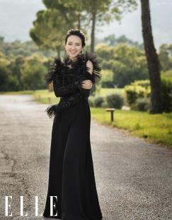 Ziyi Zhang for ELLE China October 2019-5