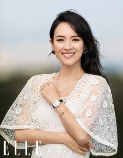 Ziyi Zhang for ELLE China October 2019-9