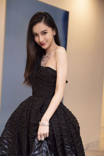 Angelababy in Dior Fall 2019 Couture-5