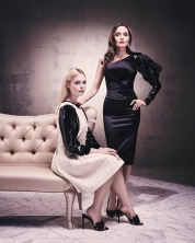 Angelina Jolie and Elle Fanning Televitos October 2019