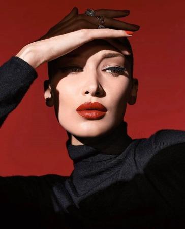 Bella Hadid Dior Halloween 2019 Makeup Campaign-2