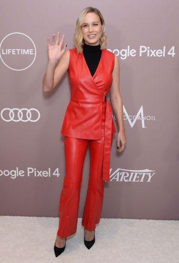 Brie Larson in Rosetta Getty Resort 2020-3