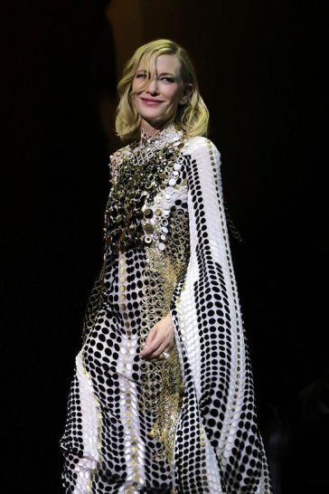 Cate Blanchett in Jean Paul Gaultier Fall 2019 Couture-4