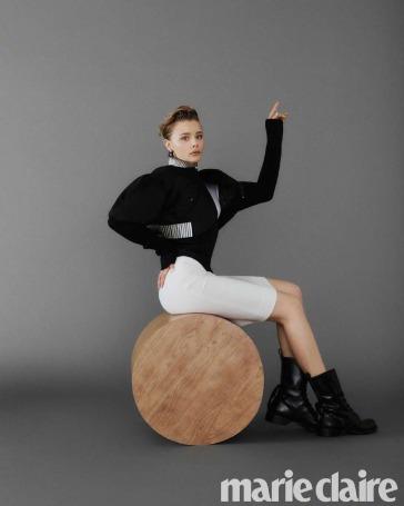 Chloe Moretz for Marie Claire Korea November 2019-5