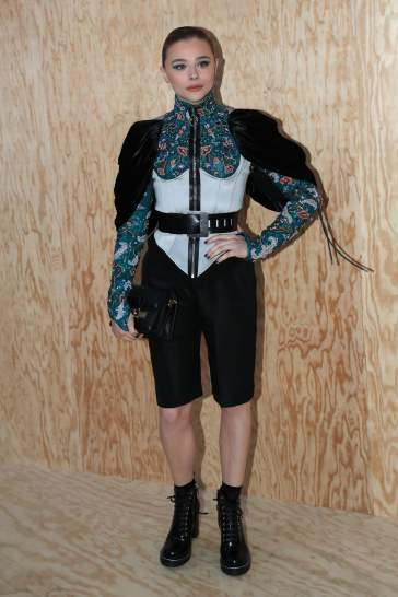 Chloe Moretz in Louis Vuitton Resort 2020-2