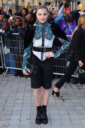 Louis Vuitton show, Arrivals, Spring Summer 2020, Paris Fashion Week, France - 01 Oct 2019