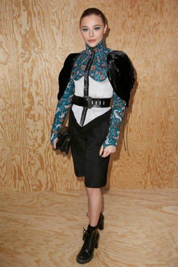 Chloe Moretz in Louis Vuitton Resort 2020