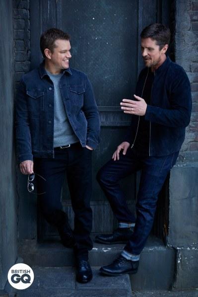 Christian Bale Matt Damon GQ UK November 2019-2