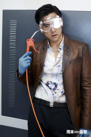 Eddie Peng for Modern Weekly China October 2019-4