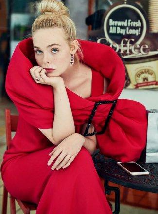Elle Fanning InStyle November 2019-2