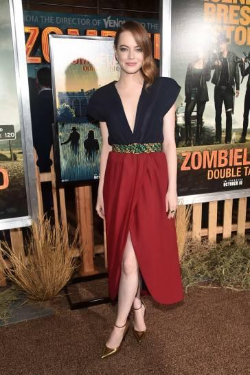 Emma Stone in Louis Vuitton Spring 2020-2