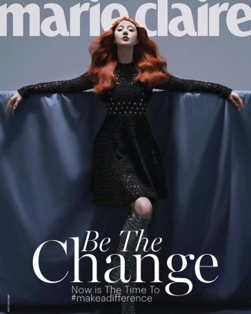 Fan Bingbing for Marie Claire Malaysia November 2019 Cover B