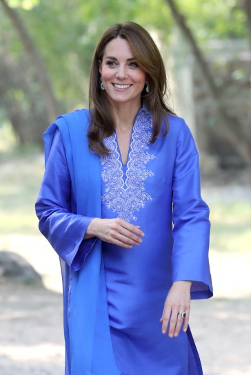 Kate Middleton in Maheen Khan-10