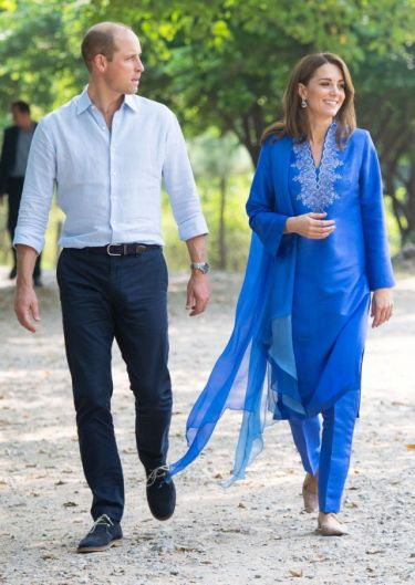 Kate Middleton in Maheen Khan-5