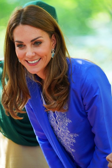 Kate Middleton in Maheen Khan-7