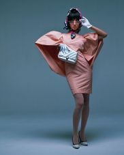 Kōki for Harper's Bazaar Japan December-2