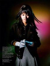Kōki for Harper's Bazaar Japan December-4