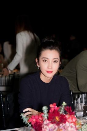 Li Bing Bing in Loro Piana Fall 2019-5
