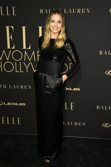 Margot Robbie in Ralph Lauren Fall 2019