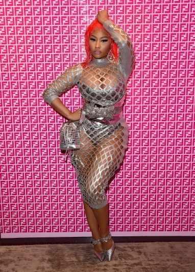 Nicki Minaj in Fendi Print On Collection-1