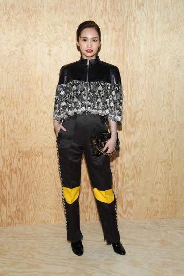Rainie Yang in Louis Vuitton Resort 2020-2