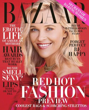 Reese Witherspoon Harper's Bazaar US November 2019 Cover B