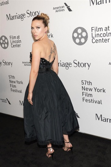 Marriage Story Premiere During the 57th New York Film Festival