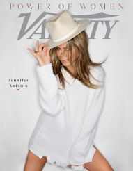 Variety Magazine Power Of Women Issue 2019 Jennifer Aniston Cover