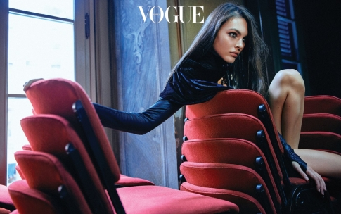 Vittoria Ceretti for Vogue Korea November 2019-12