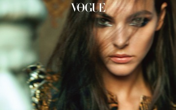 Vittoria Ceretti for Vogue Korea November 2019-2