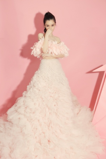 Angelababy in Giambattista Valli Fall 2019 Couture-1