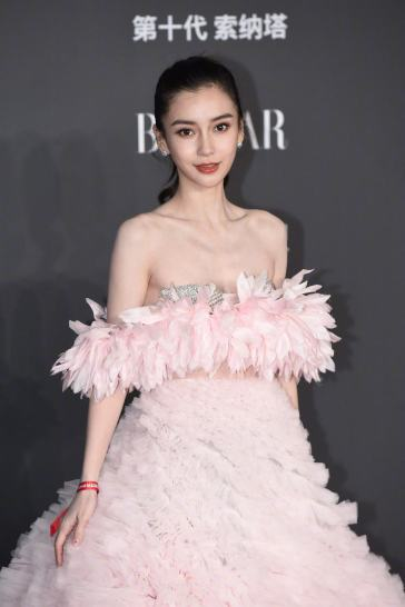 Angelababy in Giambattista Valli Fall 2019 Couture-6