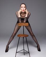 Angelina Jolie for Harper's Bazaar US December 2019-2