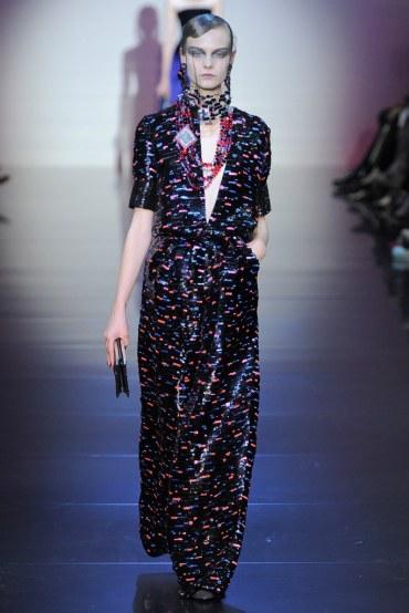Armani Privé Fall 2012 Couture