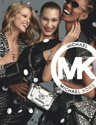 Bella Hadid for MICHAEL Michael Kors Holiday 2019 Campaign-1