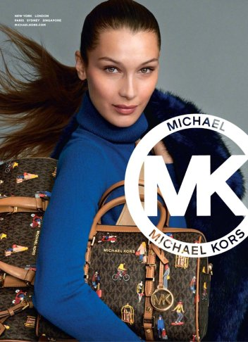 Bella Hadid for MICHAEL Michael Kors Holiday 2019 Campaign-2