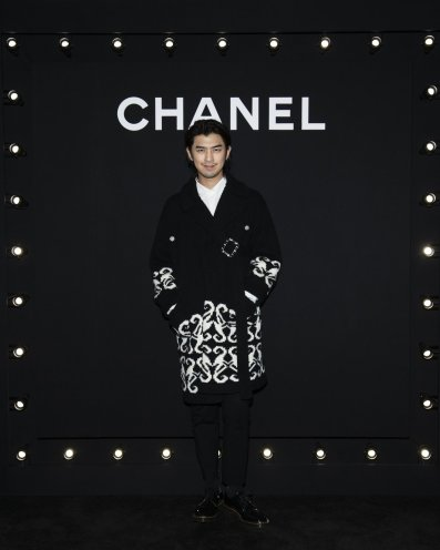 Bo-Lin Chen in Chanel Fall 2019-3
