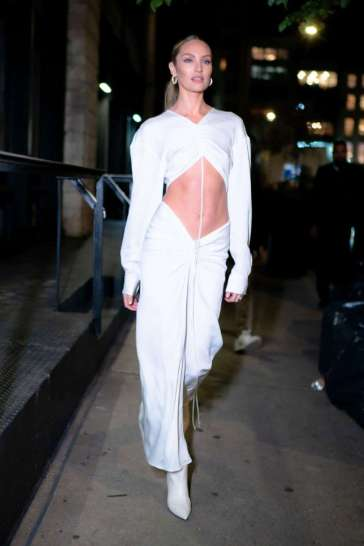 Candice Swanepoel in Christopher Esber Spring 2020-10