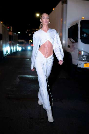Candice Swanepoel in Christopher Esber Spring 2020-4