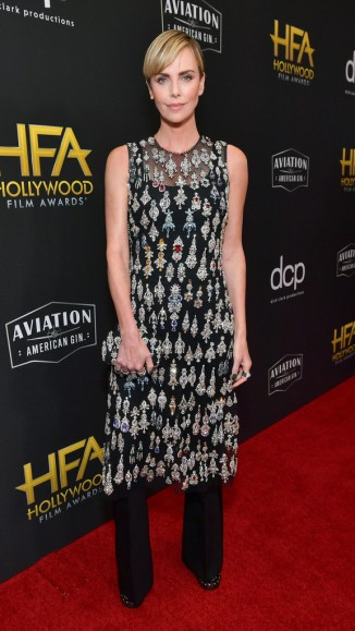 Charlize Theron in Alexander McQueen Fall 2019-4