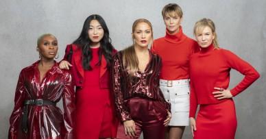 Charlize Theron& Jennifer Lopez & Renee Zellweger & Awkwafina & Cynthia Erivo X LA Times-2